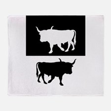 Aurochs Throw Blanket