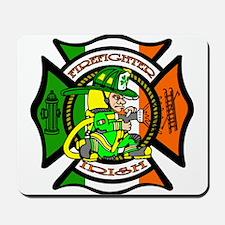 Firefighter-Irish Mousepad