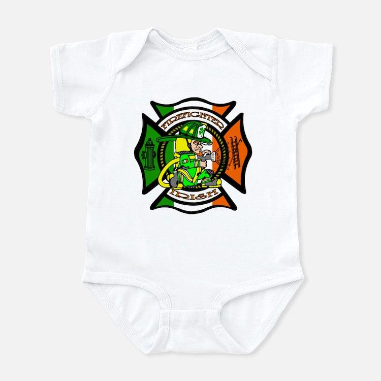 Firefighter-Irish Infant Bodysuit