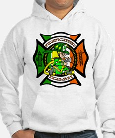 Firefighter-Irish Hoodie