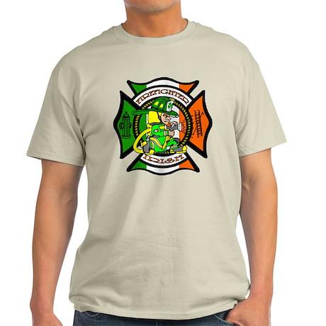 Firefighter-Irish Light T-Shirt