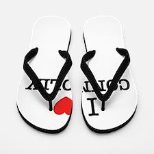 I Love CONNOLLY Flip Flops
