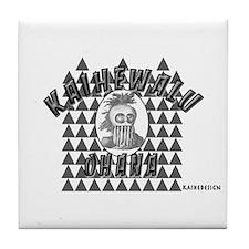 KAIHEWALU OHANA Tile Coaster