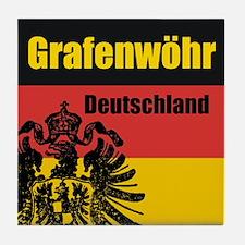 Grafenwöhr Deutschland Tile Coaster