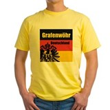 Grafenwoehr germany Mens Yellow T-shirts