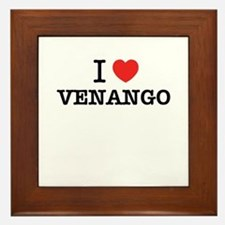 I Love VENANGO Framed Tile