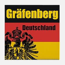 Gräfenberg Deutschland Tile Coaster