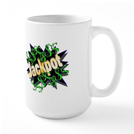 Jackpot Winner Large Mug