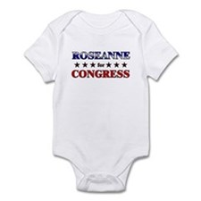 ROSEANNE for congress Infant Bodysuit