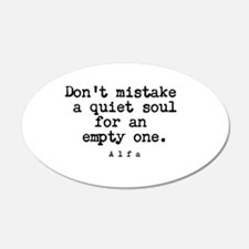 Quiet Soul Wall Decal