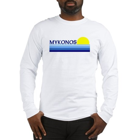 Mykonos, Greece Long Sleeve T-Shirt