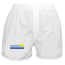 Mykonos, Greece Boxer Shorts