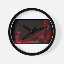 Imperial Dragon Wall Clock
