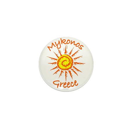 Mykonos, Greece Mini Button (100 pack)