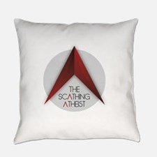 Scathing Atheist Logo Everyday Pillow