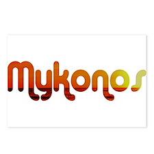 Mykonos, Greece Postcards (Package of 8)