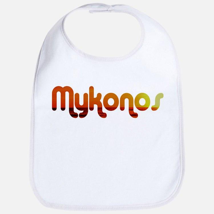 Mykonos, Greece Bib