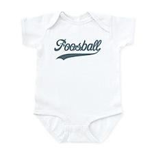 Retro Foosball Infant Bodysuit