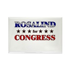 ROSALIND for congress Rectangle Magnet