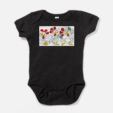 Cute Cute chickens Baby Bodysuit