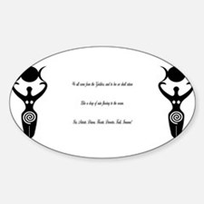 Wicca Chant Decal