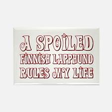 Spoiled Lapphund Rectangle Magnet