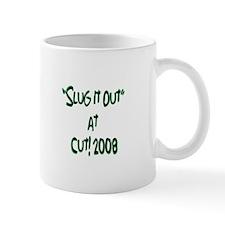 CUT! 2008 Mug - f/b green