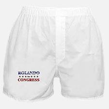 ROLANDO for congress Boxer Shorts