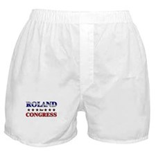 ROLAND for congress Boxer Shorts