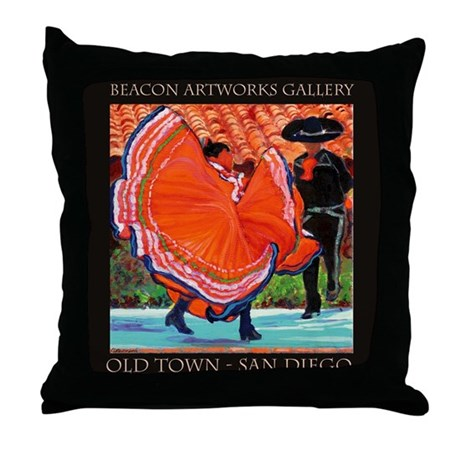 Throw Pillow Gallery : Beacon Artworks Gallery Throw Pillow by BeaconArtworks