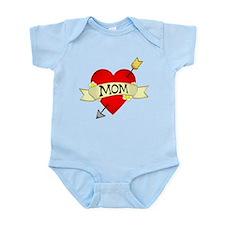 Heart Mom Infant Bodysuit