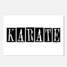 """""""Karate"""" 1 Postcards (Package of 8)"""