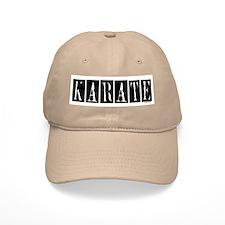 """Karate"" 1 Baseball Cap"