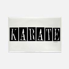 """Karate"" 1 Rectangle Magnet"