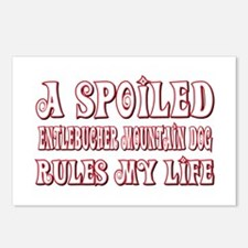 Spoiled Entlebucher Postcards (Package of 8)