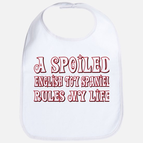 Spoiled Spaniel Bib