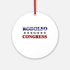 RODOLFO for congress Ornament (Round)