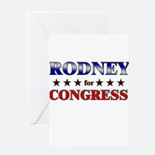 RODNEY for congress Greeting Card