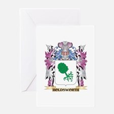 Holdsworth Coat of Arms (Family Cre Greeting Cards