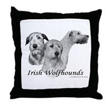 Handsome Male IRW Throw Pillow