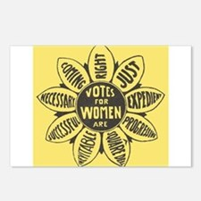 Votes for Women Postcards (Package of 8)