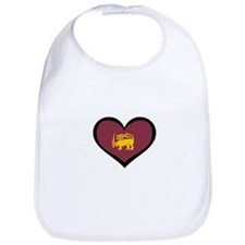 Sri Lanka Love Bib