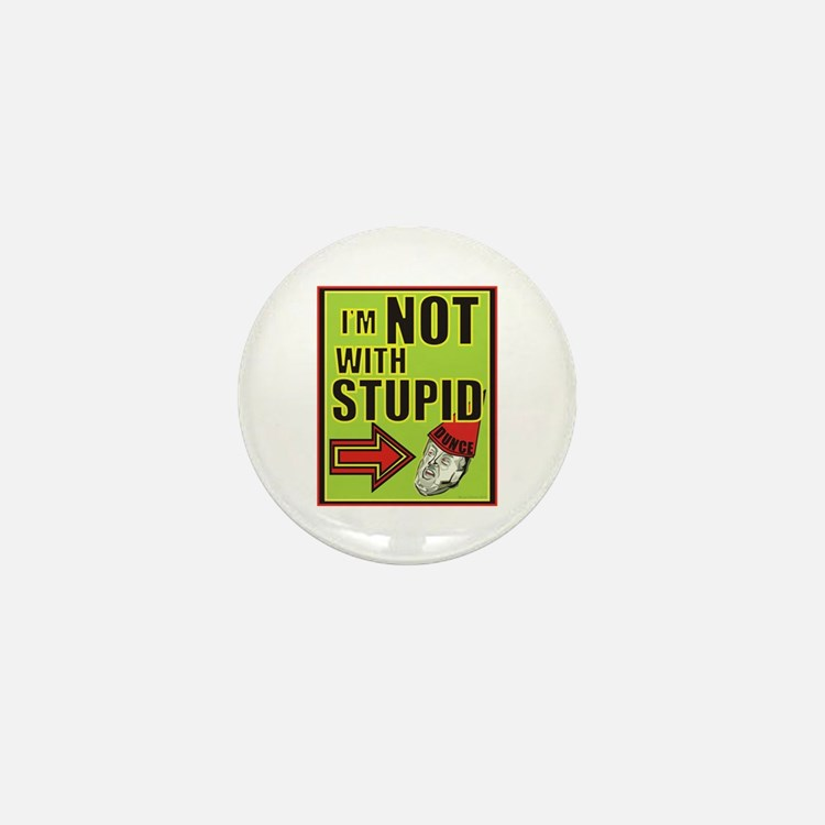 Stupid Trump Mini Button