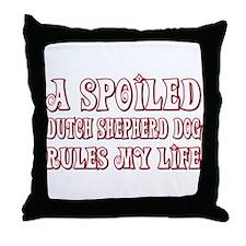 Spoiled Shepherd Throw Pillow