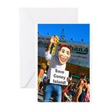 Coney island souvenirs Greeting Cards (10 Pack)