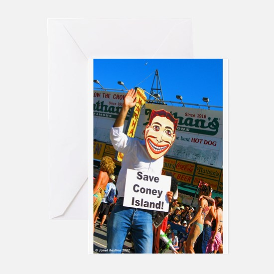 Save Coney Island Greeting Cards (Pk of 10)