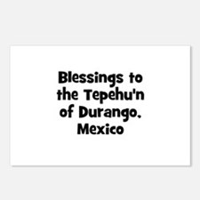 Blessings to the Tepehu'n of  Postcards (Package o