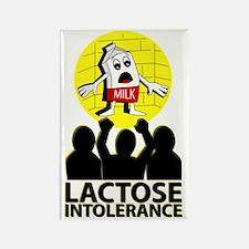 Cute Lactose intolerance Rectangle Magnet