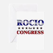ROCIO for congress Greeting Card