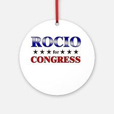ROCIO for congress Ornament (Round)